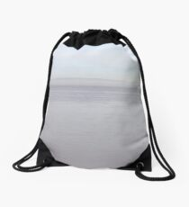 Wales in the mist Drawstring Bag