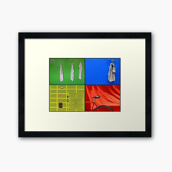 Just the Colours Please Framed Art Print