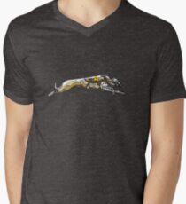 GREYHOUND RACE RUN Mens V-Neck T-Shirt