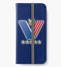 Veterans, USA, America, American, Serviceman, Navy Blue iPhone Wallet/Case/Skin