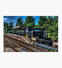Bede Metro Station Photographic Print