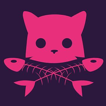 Cat Jolly Roger by ElinoreG