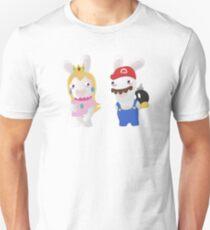 Rabbid Mario and Daisy Unisex T-Shirt