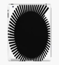 black brush iPad Case/Skin