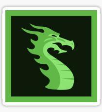 Dragonbones Egret Programming Sticker Sticker