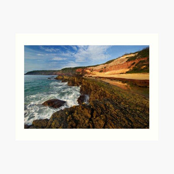 Middle Beach - Merimbula Art Print