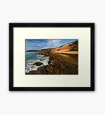 Middle Beach - Merimbula Framed Print