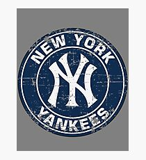 New York Yankees Baseball Club-Distressed Photographic Print