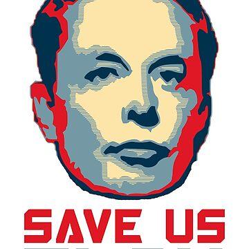 Save Us Elon by idaspark