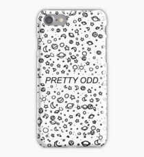 p!atd pretty odd line art iPhone Case/Skin