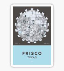 Frisco TX Sticker