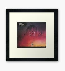 Odesza album Framed Print