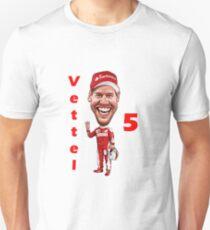 Sebastian Vettel NEW 2017 Unisex T-Shirt
