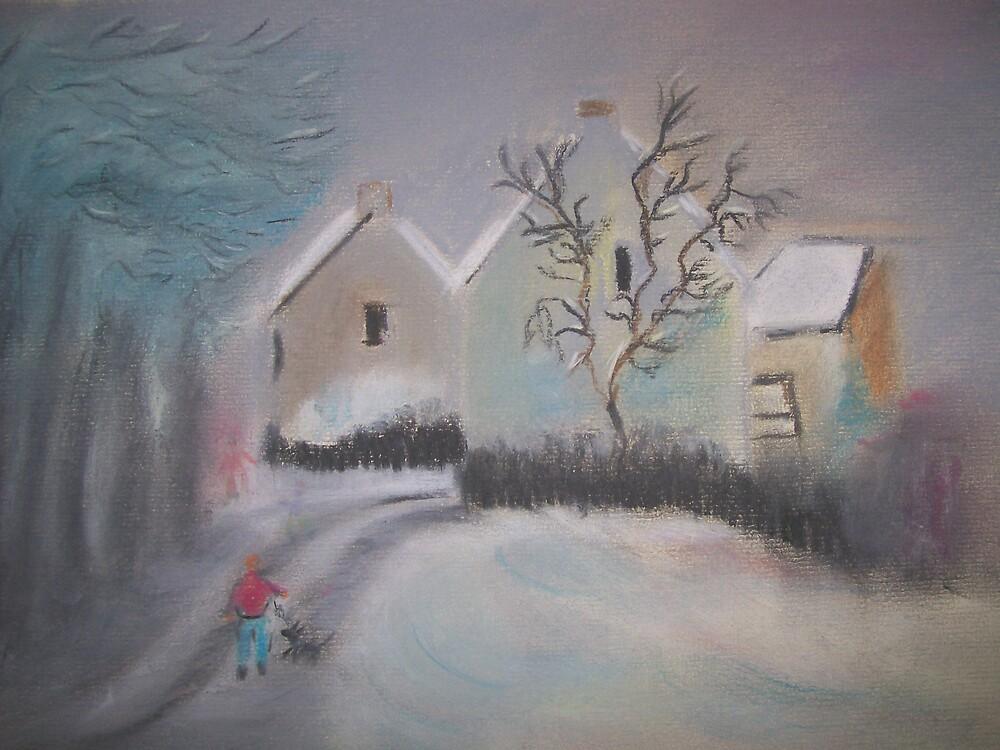 Winter walk by Susie J