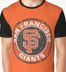 San Francisco Giants Baseball Club MLB-Distressed Graphic T-Shirt