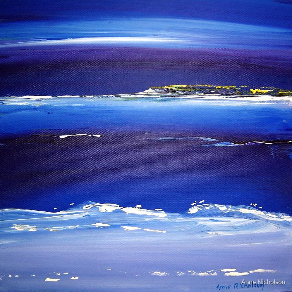 Blue Night by Anne Nicholson