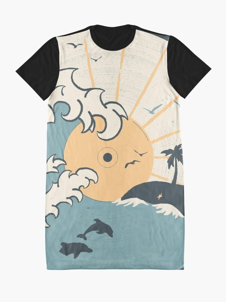 Alternate view of OCN LP... Graphic T-Shirt Dress