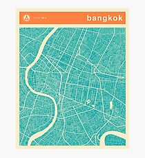 BANGKOK MAP Photographic Print