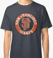 San Francisco Giants Baseball Club MLB-Distressed Classic T-Shirt