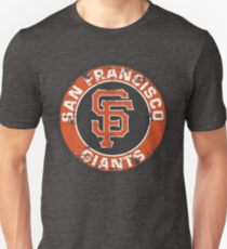 San Francisco Giants Baseball Club MLB-Distressed T-Shirt