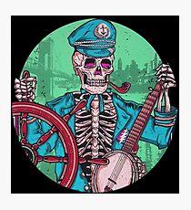Captain Dead Photographic Print