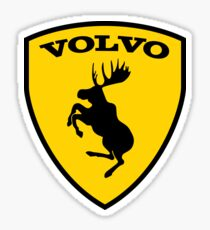 Volvo moose Logo 1 Sticker