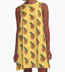 Apricots or peaches? :p A-Line Dress