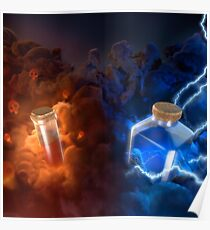Poison Lightning Clash royale Poster