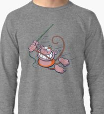 swinging monkey Lightweight Sweatshirt