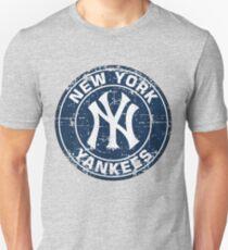 New York Yankees Baseball Club-Distressed T-Shirt
