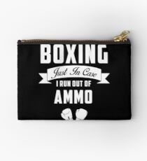 Boxing - Just In Case I Run Out Of Ammo Studio Pouch
