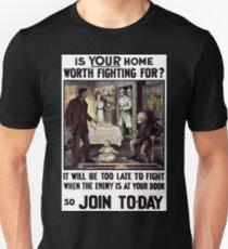 Irish WWI Military Recruitment T-Shirt