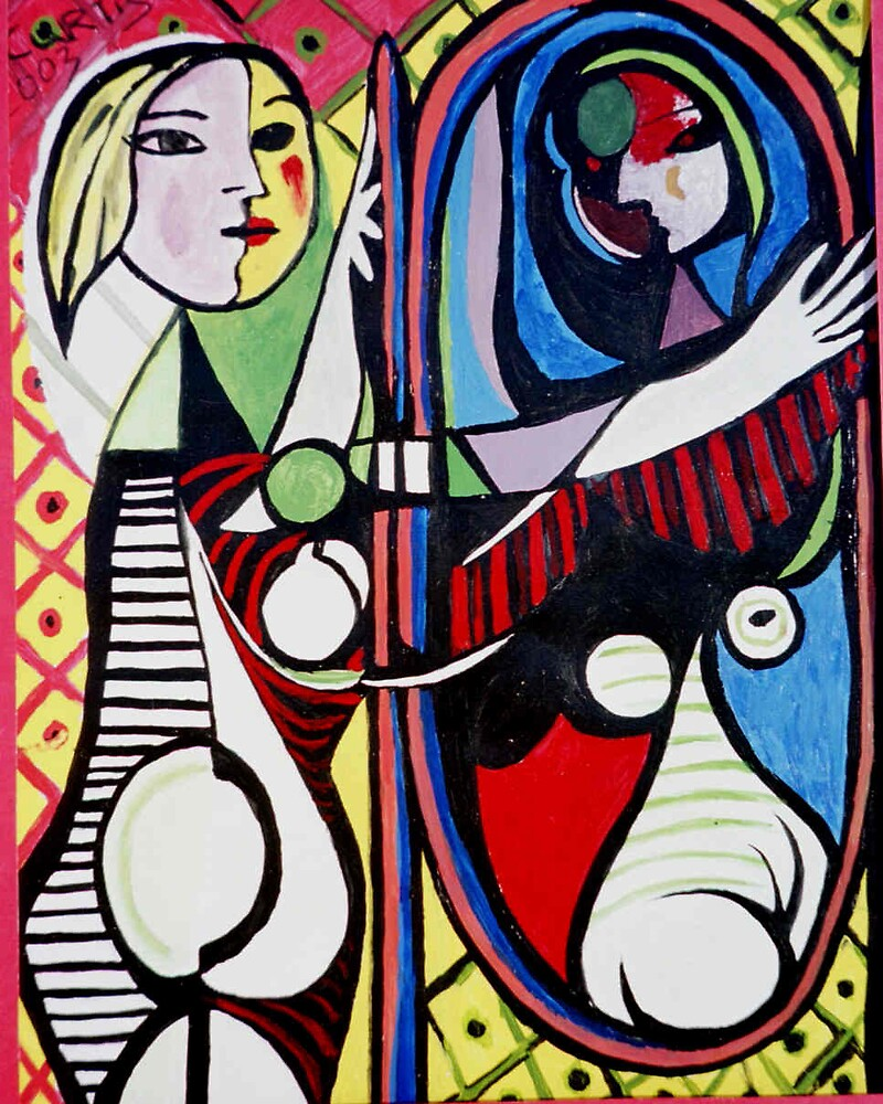 Picasso's Woman by students