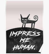 Impress Me Human Poster