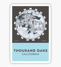 Thousand Oaks CA Sticker