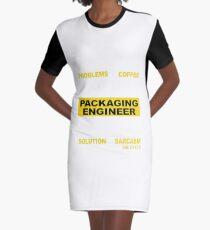 PACKAGING ENGINEER Graphic T-Shirt Dress