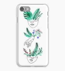 Flora y fauna iPhone Case/Skin