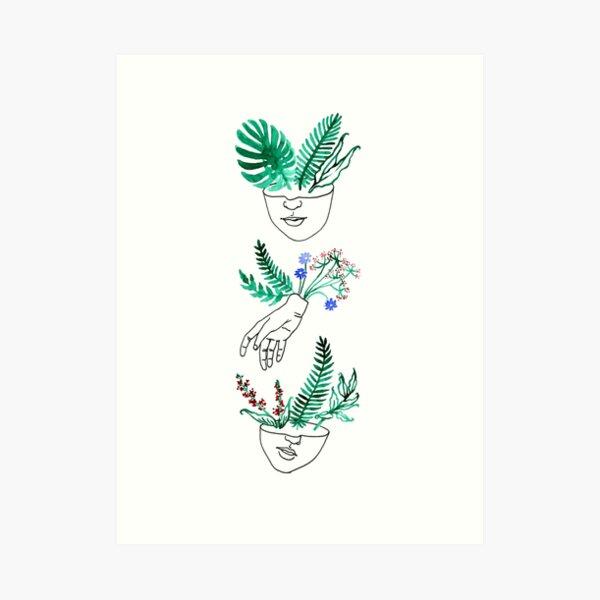 Flora y fauna Art Print