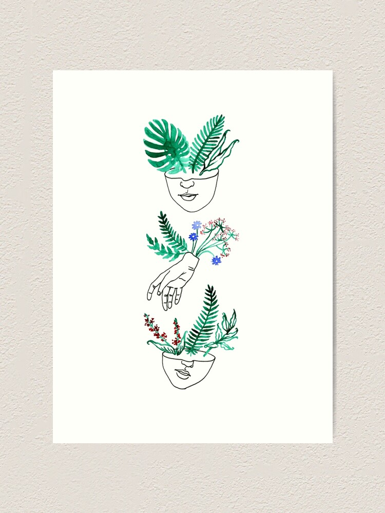 Alternate view of Flora y fauna Art Print