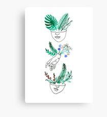 Flora y fauna Metal Print