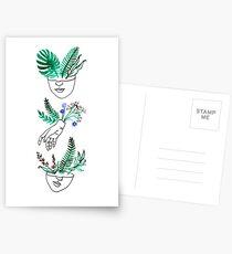 Flora y fauna Postcards