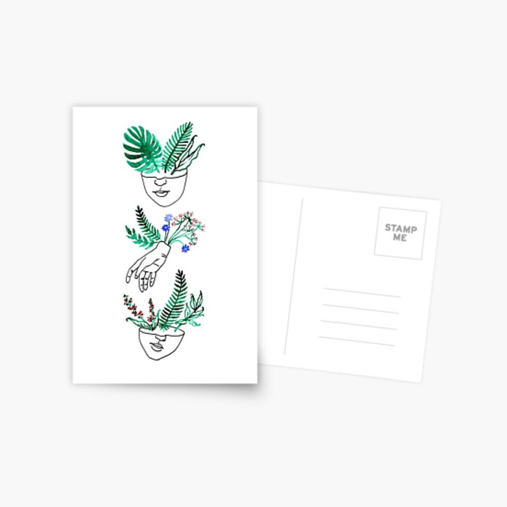 Flora y fauna Postcard