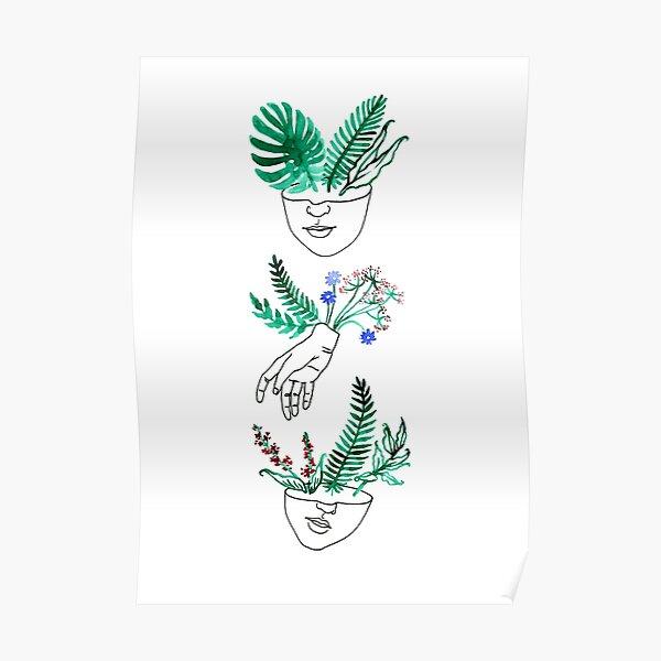 Flora y fauna Poster