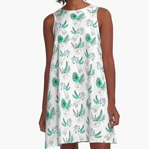 Flora y fauna A-Line Dress
