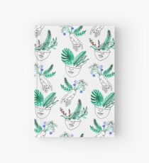 Flora y fauna Hardcover Journal