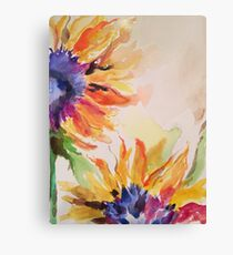 Dreamy Sunflowers Canvas Print