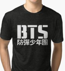 BTS Bangtan Boys Logo/Text 2 Tri-blend T-Shirt