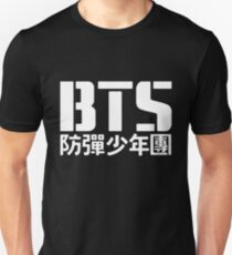 BTS Bangtan Boys Logo/Text 2 T-Shirt