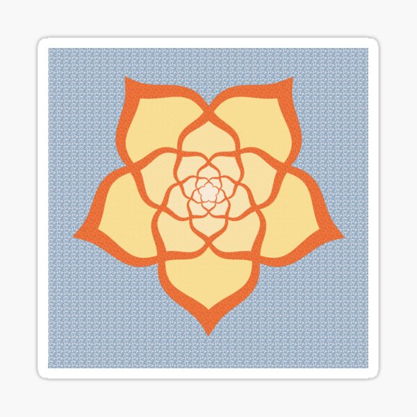 Tutored Rose - Textured Color Sticker