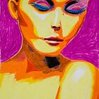 Peaceful shy - Portrait of a Lady by ILoveTheQuirky